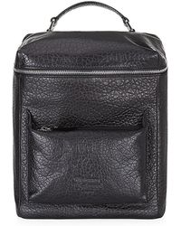 Vivienne Westwood Black Square Backpack - Lyst