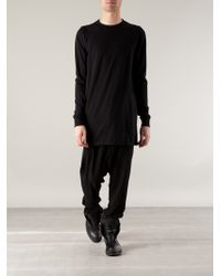 DRKSHDW by Rick Owens Long Sleeve Tshirt - Lyst