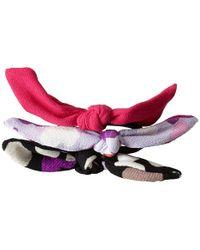 Kate Spade Hair Tie Set - Lyst