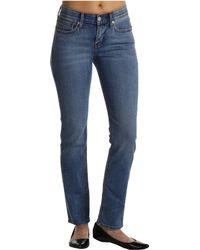 Levi's Petite 525™ Perfect Waist Straight Leg - Lyst