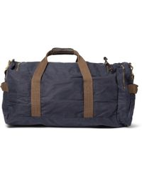 J.Crew | Abingdon Waxed Cotton-Canvas Holdall | Lyst