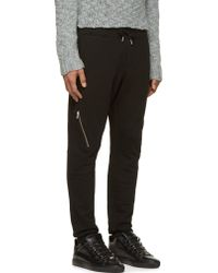 Diesel Black P_honzo Lounge Pants - Lyst
