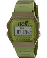 Neff Flava Xl Surf Watch - Green