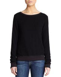 Wildfox Boatneck Sweatshirt - Lyst