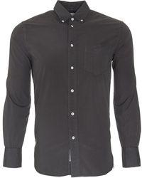 Rag & Bone | gray Standard Issue Button Down Shirt | Lyst
