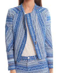 IRO Ozaka Jacket blue - Lyst