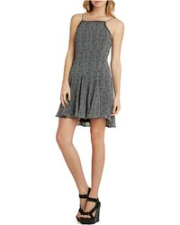 BCBGeneration Printed Fit-And-Flare Dress - Lyst
