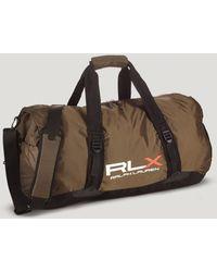 Ralph Lauren Polo Rlx Lightweight Packable Duffel Bag - Green