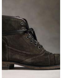 John Varvatos - Fleetwood Lace Boot - Lyst