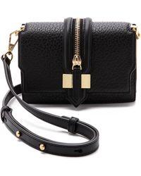 Rebecca Minkoff Mini Waverly Cross Body Bag - Black - Lyst