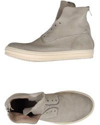 Officine Creative High-Tops & Trainers gray - Lyst
