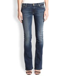 Mother The Runaway Skinny Flared Jeans - Lyst
