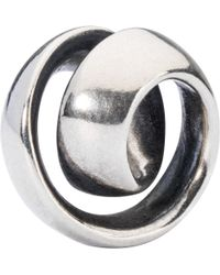 Trollbeads - Never-ending Sterling Silver Charm - Lyst