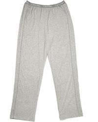 Calvin Klein Gray Lounge Pants - Lyst