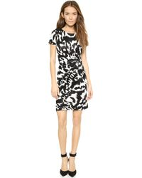 Diane Von Furstenberg White Zoe Dress - Lyst