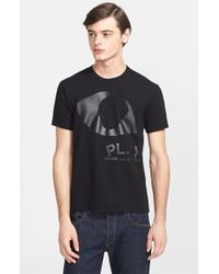 Comme des Garçons Eye Logo Print T-Shirt - Lyst