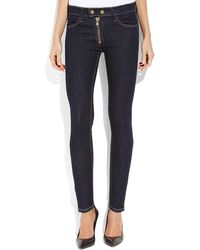 Textile Elizabeth And James Cooper Exposed Zip Jeans - Lyst