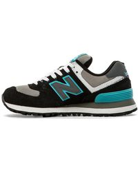 New Balance Core Plus Collection Wl574snb - Lyst