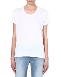 Zoe Karssen Box-fit Jersey T-shirt - Lyst