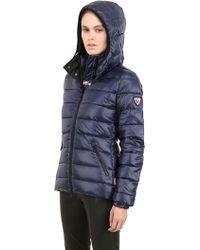 Rossignol - Carolina Shiny Nylon Down Jacket - Lyst