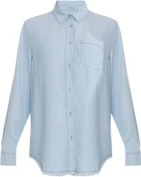 Acne Studios Wave Denim Ls Shirt - Lyst