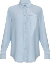 Acne Studios Wave Denim Ls Shirt - Lyst
