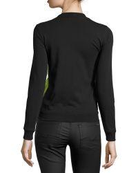 Risto - Bark-applique Long-sleeve Sweatshirt - Lyst
