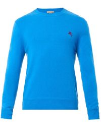 Burberry Brit Hennings Crew-Neck Cashmere Sweater - Lyst