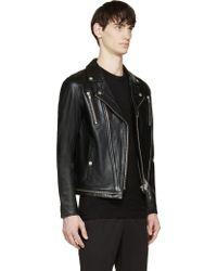 Surface To Air Black Mercury Biker Jacket black - Lyst