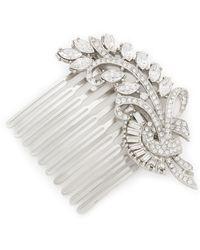 Ben-Amun - Embellished Bridal Hair Comb - Lyst