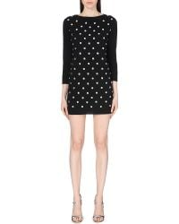 Marc Jacobs Wool-Blend Knitted Dress - Lyst