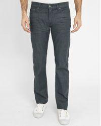 Levi's | Dark Grey 504 Jeans | Lyst