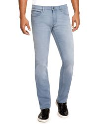 Hugo 708  Slim Fit 1075 Oz Stretch Cotton Blend Jeans - Lyst