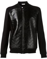 Versace Biker Jacket - Lyst