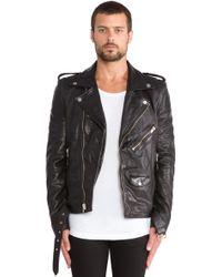 BLK DNM Leather Jacket 5 - Black