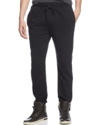 DKNY Fleece Pants - Lyst
