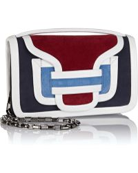 Pierre Hardy Color-Block Suede And Leather Shoulder Bag - Lyst