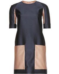 Victoria, Victoria Beckham Jacquard Dress - Lyst