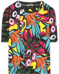 Marni Cotton T-Shirt - Lyst