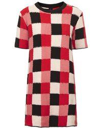 Topshop Crochet Blanket Dress By Boutique - Lyst