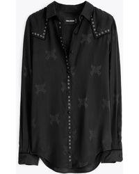 Zadig & Voltaire Shirt Tali Jac - Lyst