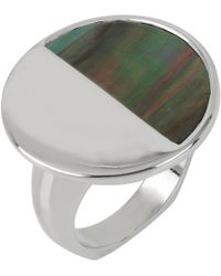 Kenneth Cole - Lunar Eclipse Shell Cocktail Ring - Lyst