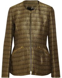 Theyskens' Theory Jelsor Metallic Tweed Jacket - Lyst