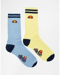 Ellesse 2 Pack Socks - Multicolor