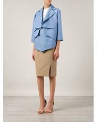 Nellie Partow | Layered-Front Jacket | Lyst