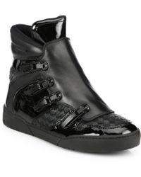 Bottega Veneta Speed Ski Hooks High-top Sneakers - Lyst