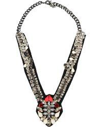 Stefanel Necklace silver - Lyst