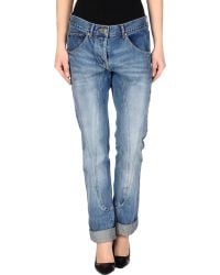 Camilla & Marc Denim Trousers blue - Lyst