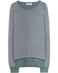 Jil Sander Cotton Sweater - Lyst