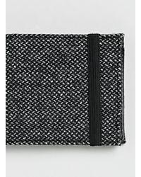 Topman Wool Look Bi-Fold Wallet - Lyst